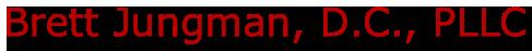 Brett Jungman, D.C., PLLC Logo